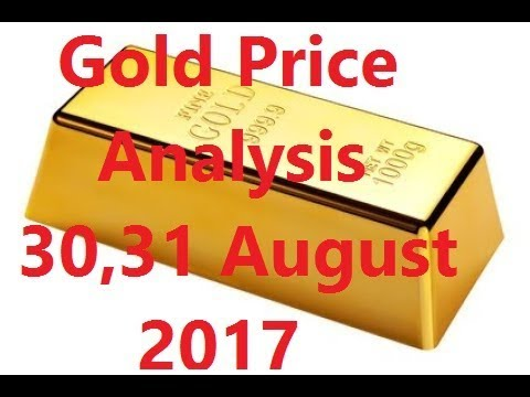 GOLD Price Technical Analysis Chart 30 and 31 August 2017