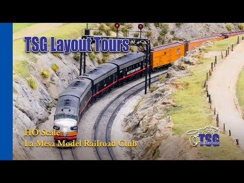 La Mesa Model Railroad Club HO Layout Tour Tehachapi LMMRRC LMRC