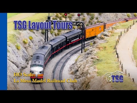 La Mesa Model Railroad Club HO Layout Tour Tehachapi LMMRRC LMRC