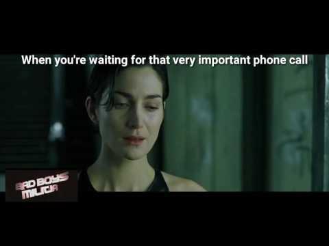 Matrix Subway Phone Scene | First Take