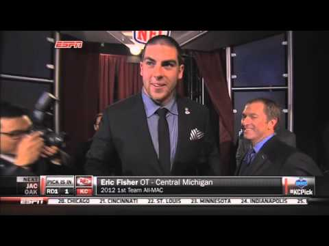 Eric Fisher Makes History as No. 1 Pick