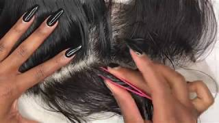 HOW TO PLUCK A FRONTAL | HIGHLY REQUESTED