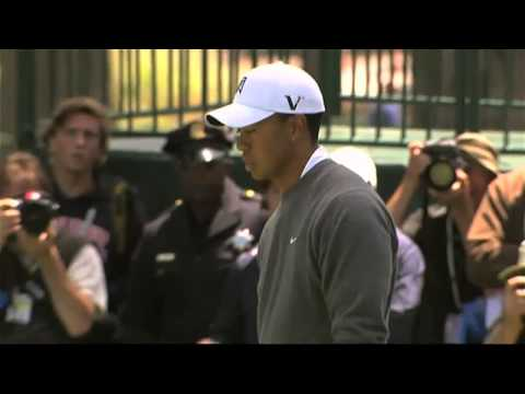 Tiger Woods 1st Round 2012 US Open