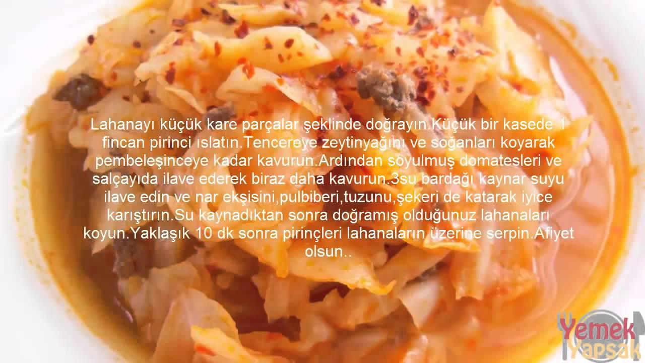 Kapuska Yemeği Videosu
