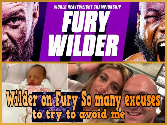 DEONTAY WILDER ON TYSON FURY SO MANY EXCUSES TO TRY TO AVOID ME