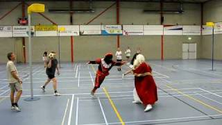 Sint en Piet Korfballen