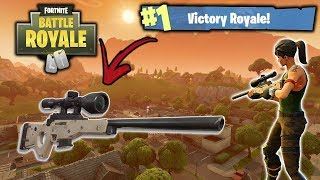 "Fortnite - Royal Victory ""Challenge between snipers in singles"" (Fortnite Battle Royale)"