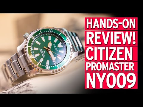 WATCH REVIEW! Citizen Promaster NY009 'Fugu'