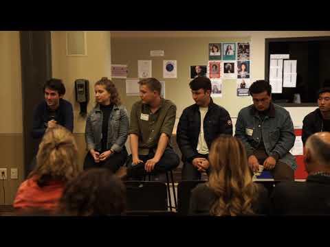 Pacific Ridge School Alumni Panel January 8, 2019