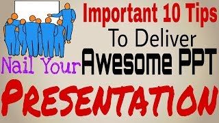 How to Give an Awesome PowerPoint Presentation in Hindi- 10 Tips/Skills- Part 3- MultiTasking Skills