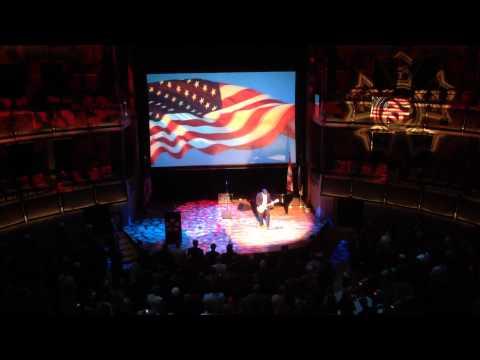 Chuck Eitel performs