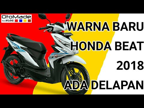 Warna Baru Honda Beat 2018 Youtube