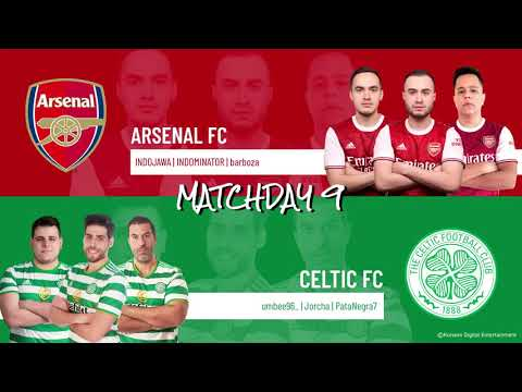 Arsenal FC vs. Celtic FC | Highlights Matchday 9 eFootball.Pro IQONIQ2020-2021