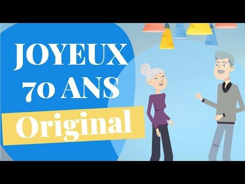 Joyeux Anniversaire 70 Ans Original Humour Youtube