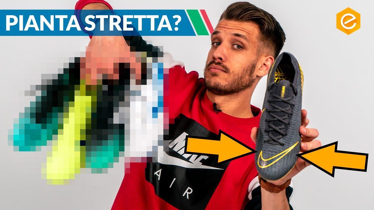 Vendita di liquidazione immagini ufficiali scarpe da corsa TOP 5 scarpe per PIANTA STRETTA - Non solo Nike MERCURIAL