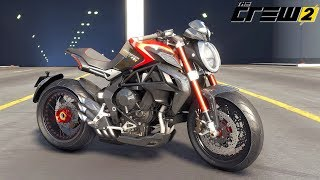 The Crew 2 - MV Agusta Brutale Dragster 800 RR (CUSTOMIZATION & FREE RIDE) thumbnail