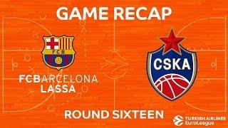 Highlights: FC Barcelona Lassa - CSKA Moscow
