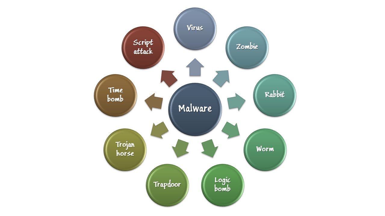 Malicious Code (Malware) - Information Security Lesson #4 of 12 ...