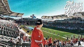 A Very Intimate NFL Game 🏈 - Chiefs @ LA Chargers at the StubHub Center!
