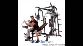 Marcy Diamond Elite MD-9010G Smith Cage Review (Best Exercise Machine?)