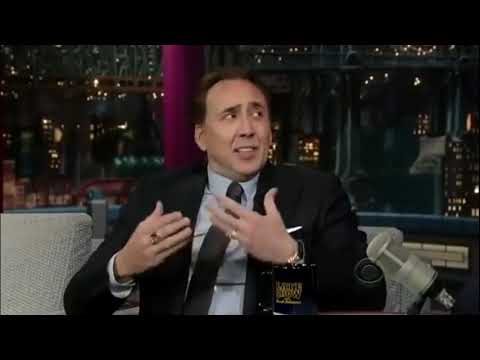 Nicolas Cage funniest TV Interview moments