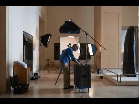 Les métiers de l'image à l'agence photo de la Rmn Grand Palais