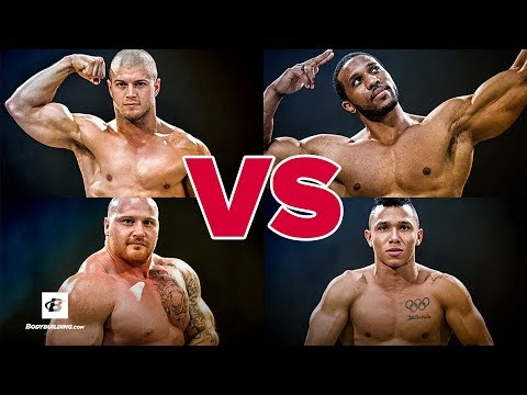 Weightlifter vs Powerlifter vs Bodybuilder vs CrossFit Athle