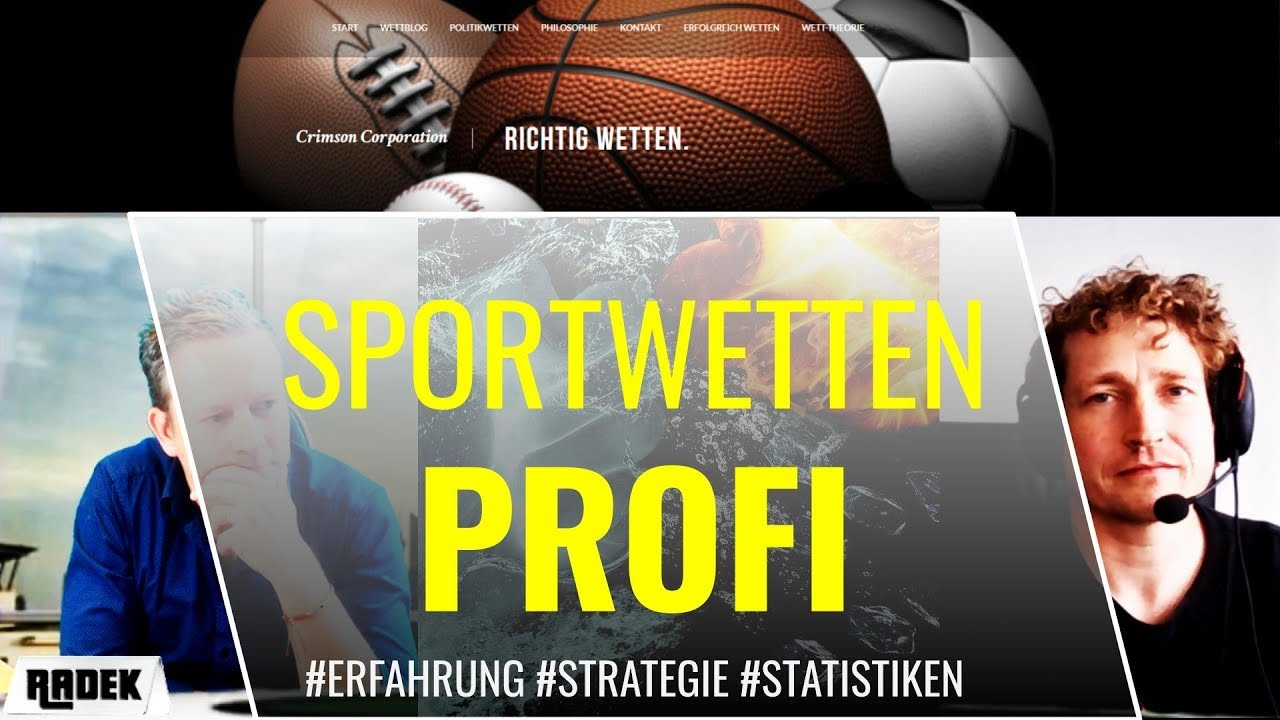 Sportwetten Profi Strategie