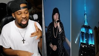"Eminem Performs ""Venom"" from the Empire State Building on Jimmy Kimmel Live - REACTION"