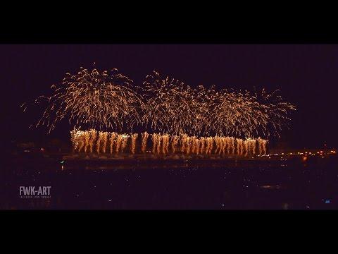 Dresden - Feuerwerk zum Tag der Deutschen Einheit 2016