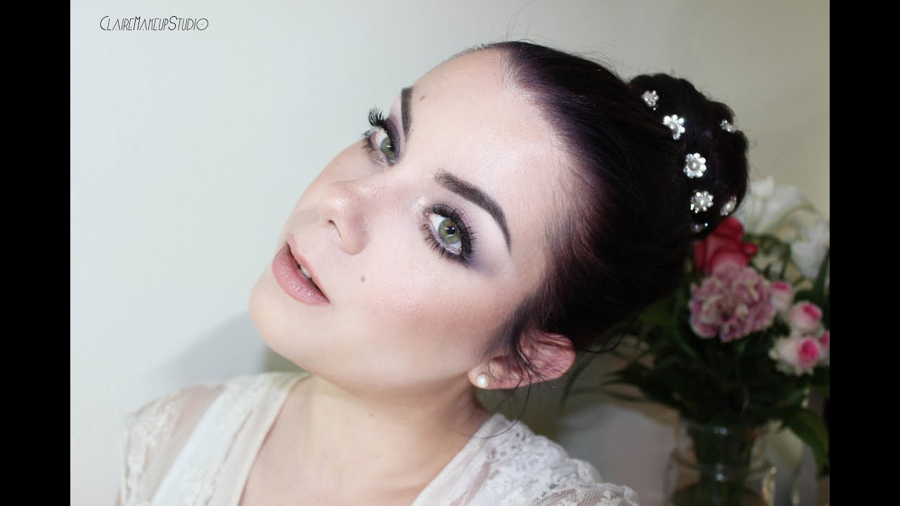 tutoriel maquillage de marie romantique - Tuto Maquillage Mariage