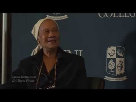 Cabrini Q&A: Gloria Richardson Q2: The Civil Rights Movement