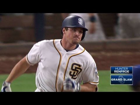LAD@SD: Renfroe drills a grand slam to...