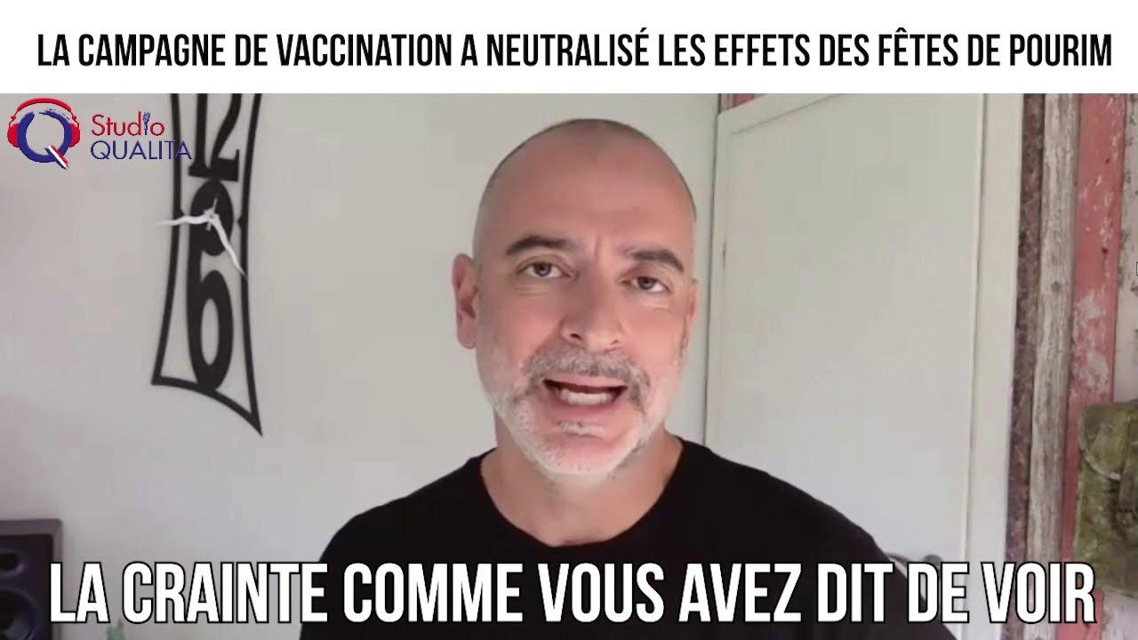 La campagne de vaccination a neutralisé les effets des fêtes de Pourim - L'invité du 12 mars 2021