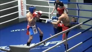 Финал К-1 2016 вес.71 кг Кобенко Александр (Королев) vs Конотопов Артем (Москва)