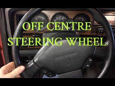 Steering Wheel Off Center - 1st Gen Cummins - YouTube
