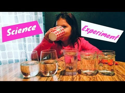 Sink or Float Candy Science Experiment - Which Chocolate is less dense or more dense?