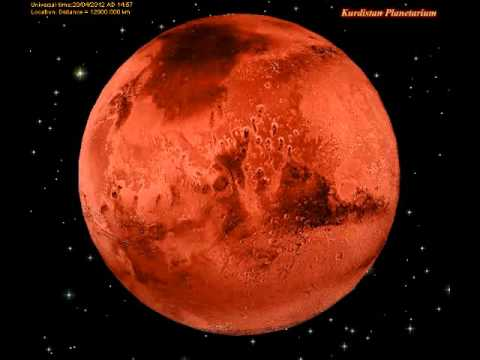 Mars Rotation - HQ - YouTube