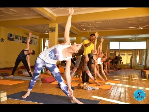 Beginners Yoga Classes In Rishikesh - First Day Of 200-Hours YTTC - Part 1