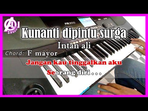 KUNANTI DIPINTU SURGA - Intan Ali - Karaoke Dangdut