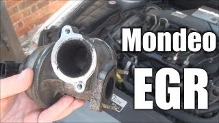 mondeo egr valve info cleaning operation