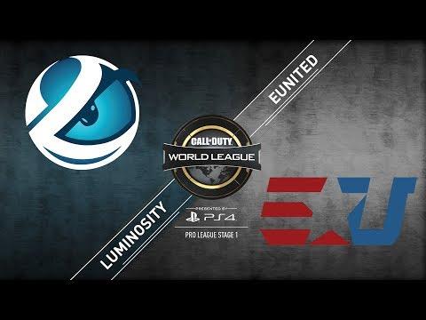 eUnited vs. Luminosity - CWL Pro League - Division B - Stage 1
