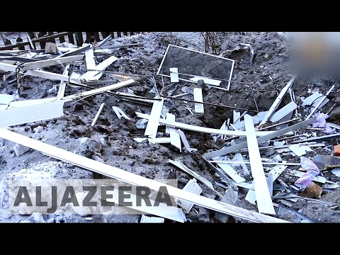 Fresh outburst of violence in eastern Ukraine