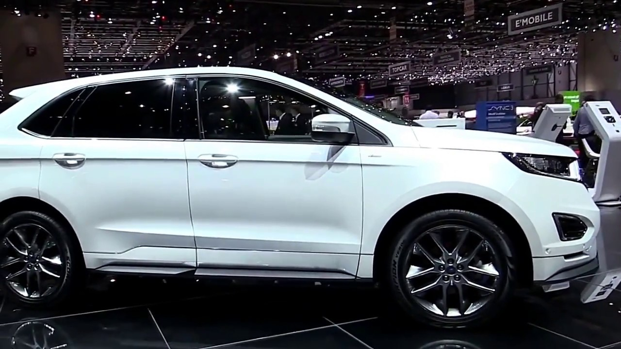 2017 ford edge st line limited luxury features exterior and interior first look hd youtube. Black Bedroom Furniture Sets. Home Design Ideas