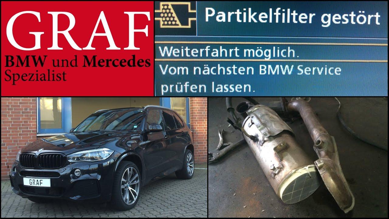 BMW Partikelfilter DPF voll entfernen deaktivieren reinigen regenerieren  F10 530d 525d 520d Hamburg