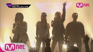 "[Unpretty Rapstar]ep.08: Final stage ""Cheetah & Jessi & Jidam (feat.Ailee)-아무도 모르게"""