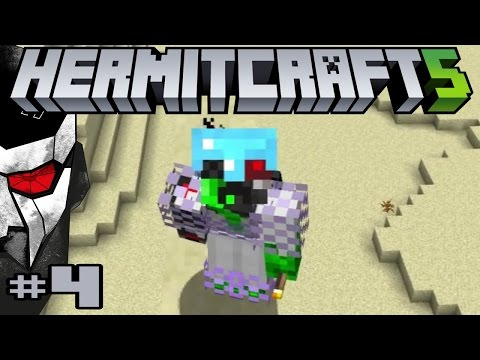 HERMITCRAFT SEASON 5 MINECRAFT #4 - WHATCHA GONNA DO, WHEN THE NHO RUNS WILD ON YOU!
