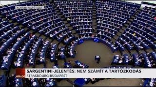 Sargentini-jelentés: Nem számít a tartózkodás