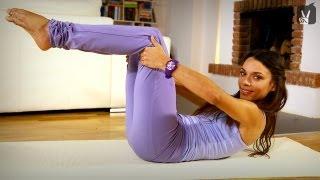 Pilates Flat Abs: Übungen für straffe, flache Bauchmuskeln - Anfänger