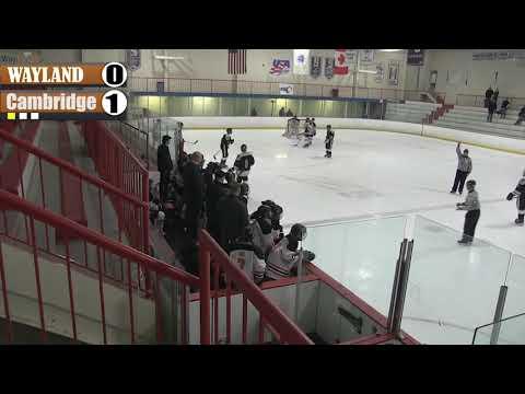 WHS Boys Hockey vs. Cambridge Rindge and Latin - January 19, 2019